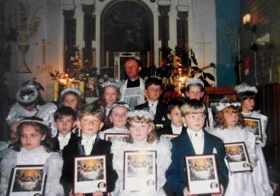 Pierwsza Komunia Św.1994r.